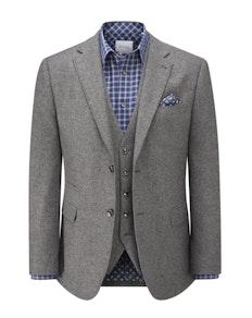 Skopes Hafren Tweed Blazer Charcoal