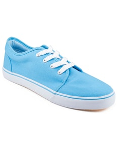 Front Ollie Canvas Plimsolls Blue