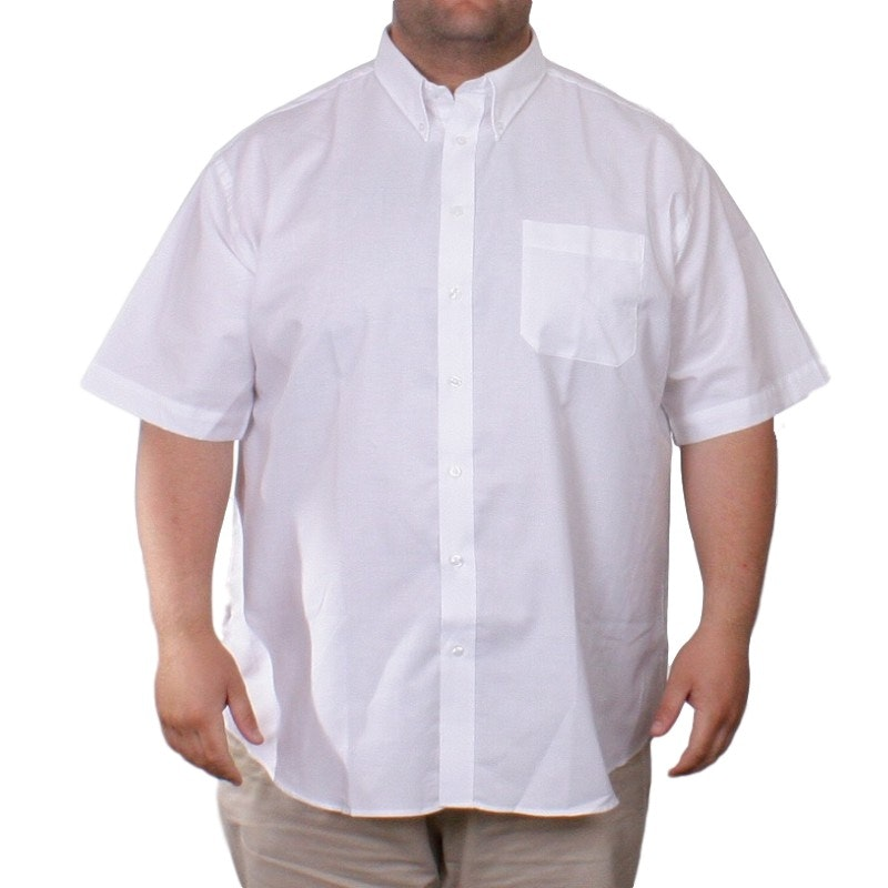 Fruit of the Loom White Oxford Shirt