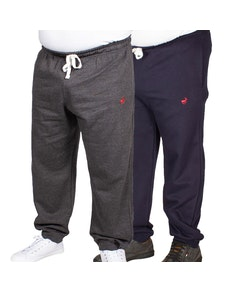 Bigdude Signature Joggers Twin Pack Charcoal/Navy