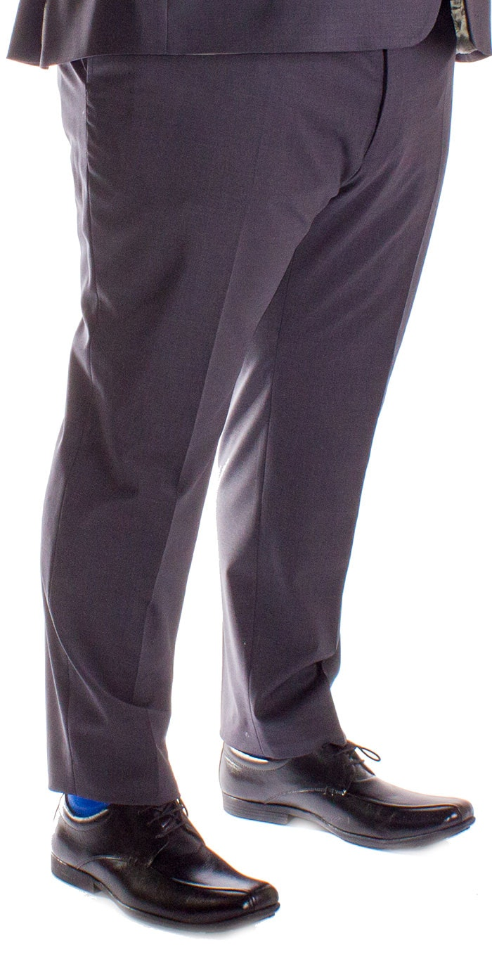 Hugo James Hazan Trousers Charcoal
