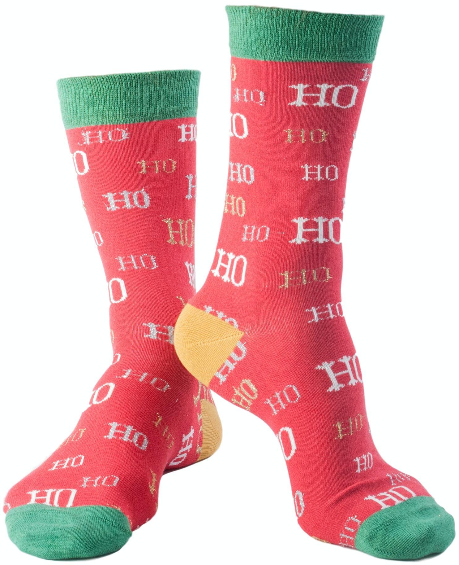 Doris & Dude HO HO Socks