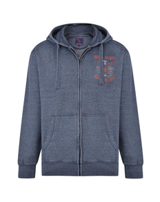 KAM Rebel Bikers Hoody Insignia Blue