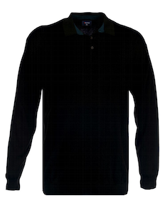 Espionage Polo Jumper Black