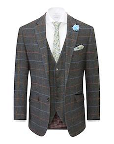 Skopes Tailored Doyle Jacket Grey/Blue