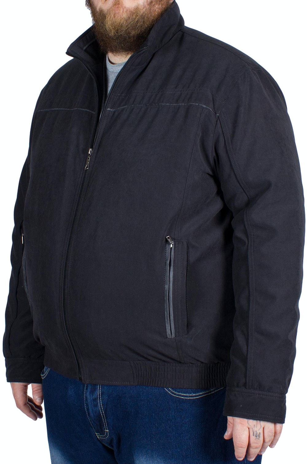 Saxon Mull Jacket Black