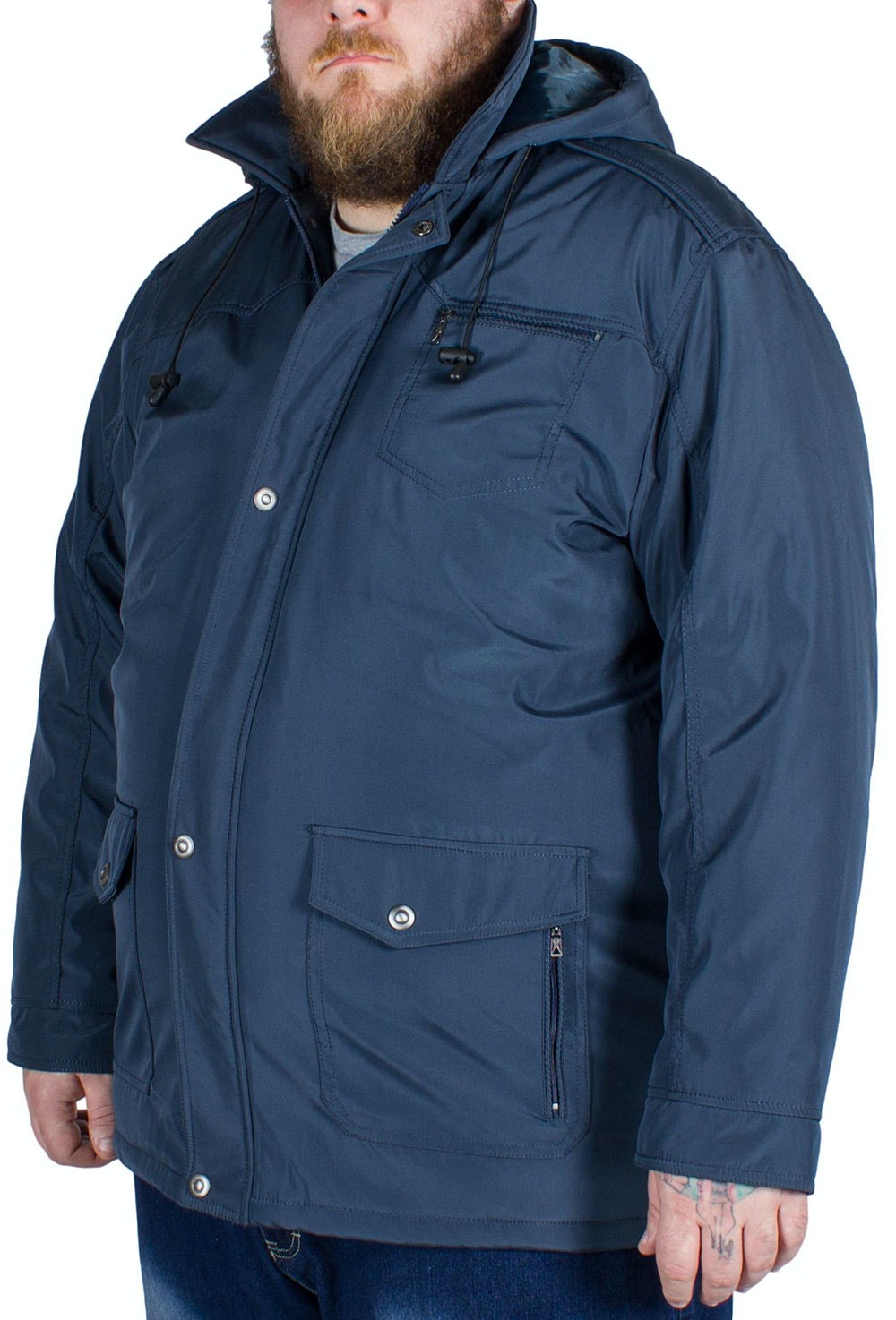 Saxon Brecon Coat Blue