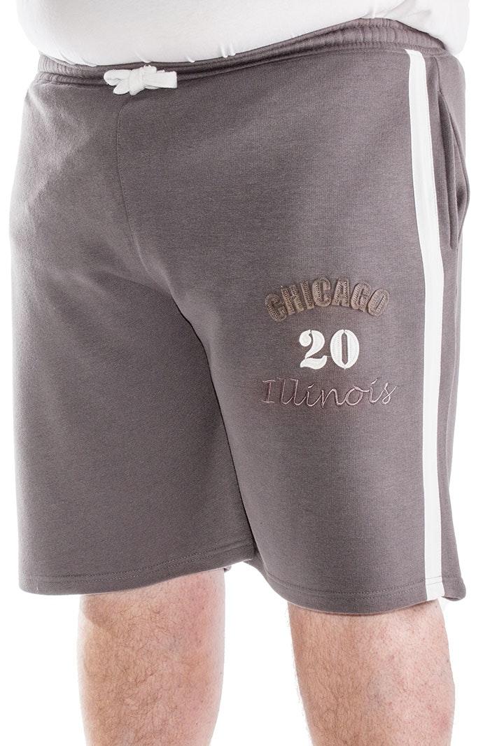 Bigdude Chicago Jogger Shorts Graphite