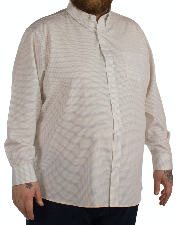 Carabou Check Long Sleeve Shirt Lemon