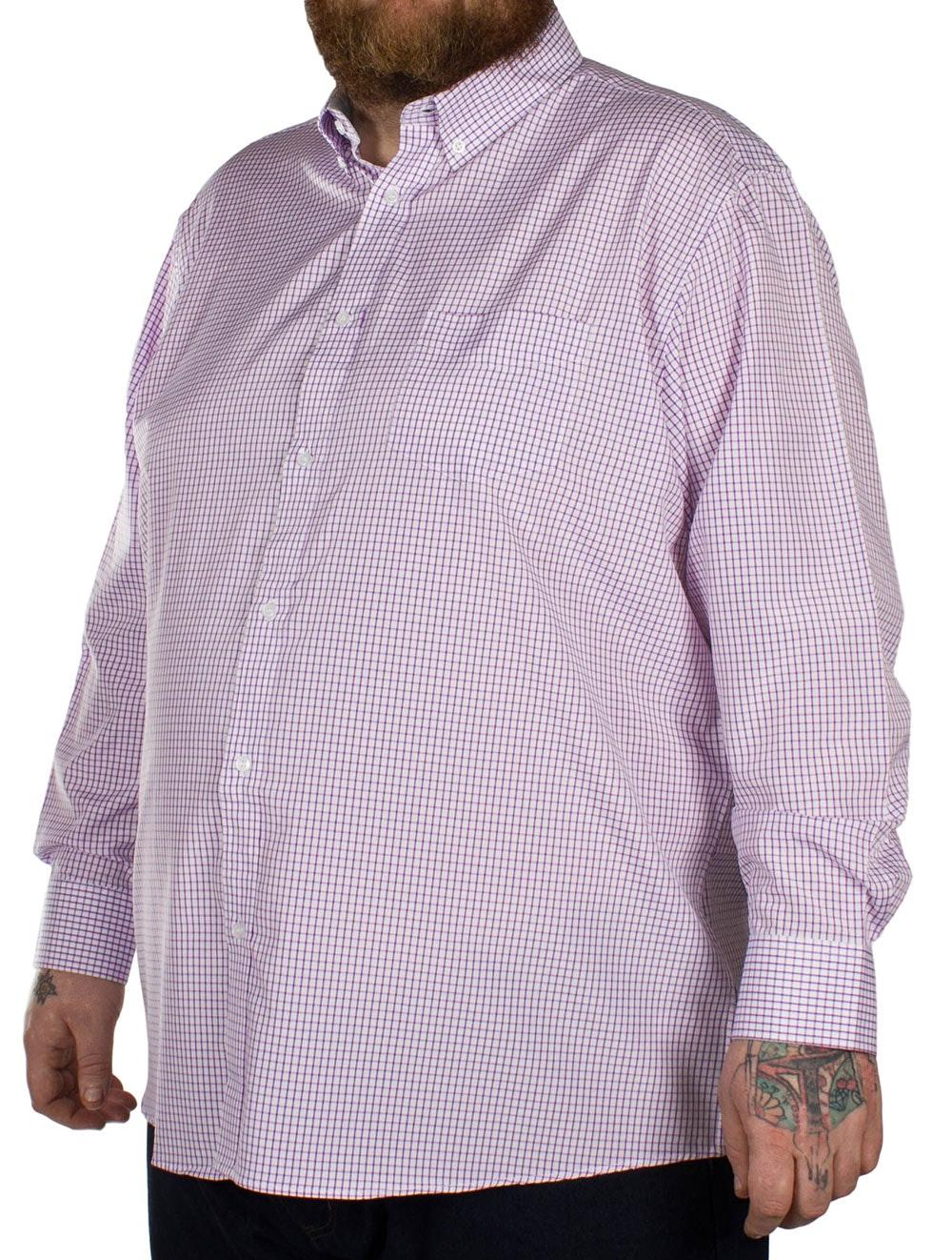 Carabou Classic Long Sleeve Shirt Purple