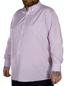 Carabou Classic Long Sleeve Shirt Purple