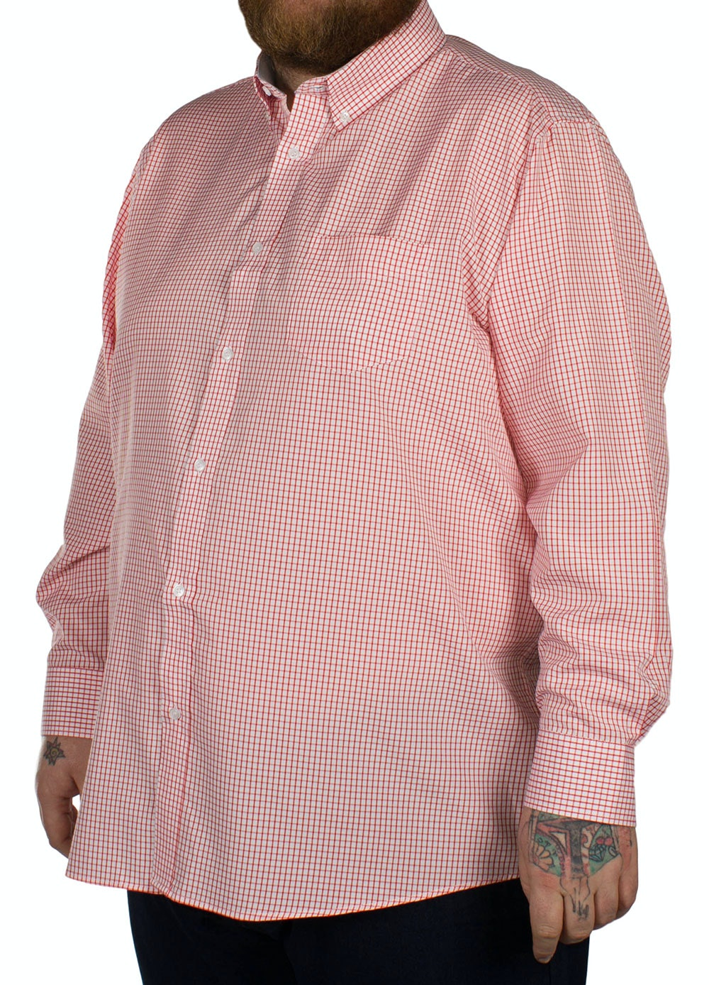 Carabou Classic Long Sleeve Shirt Red