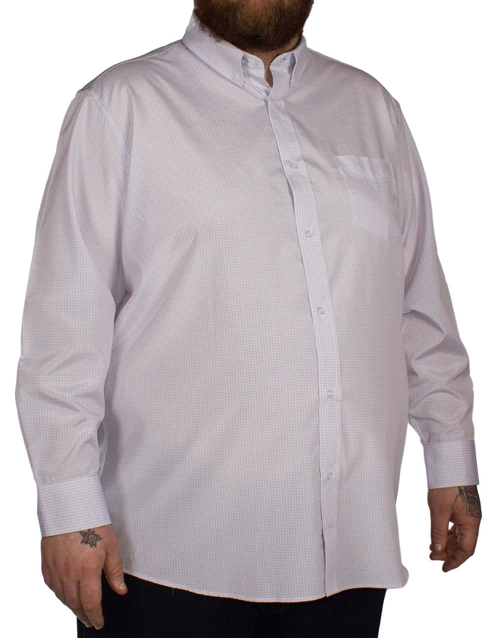 Carabou Check Long Sleeve Shirt Pink