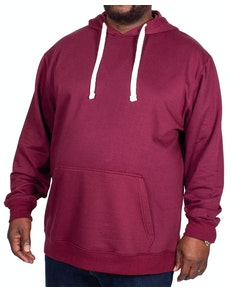Bigdude Essentials Pullover Hoody Burgundy Tall