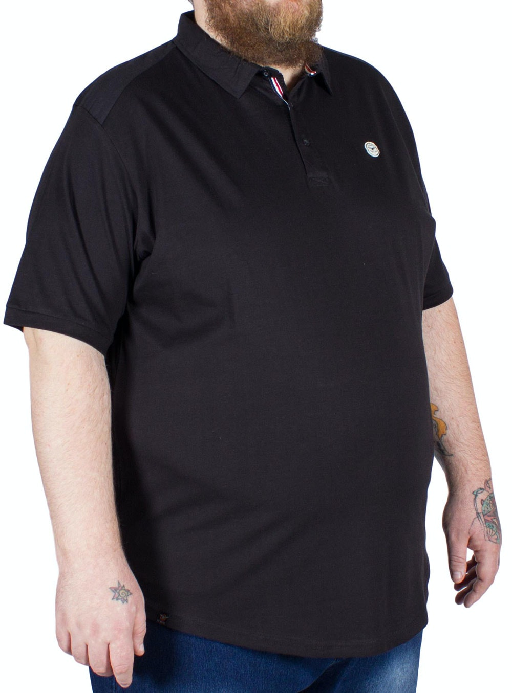 Le Breve Scavenger Polo Shirt Black