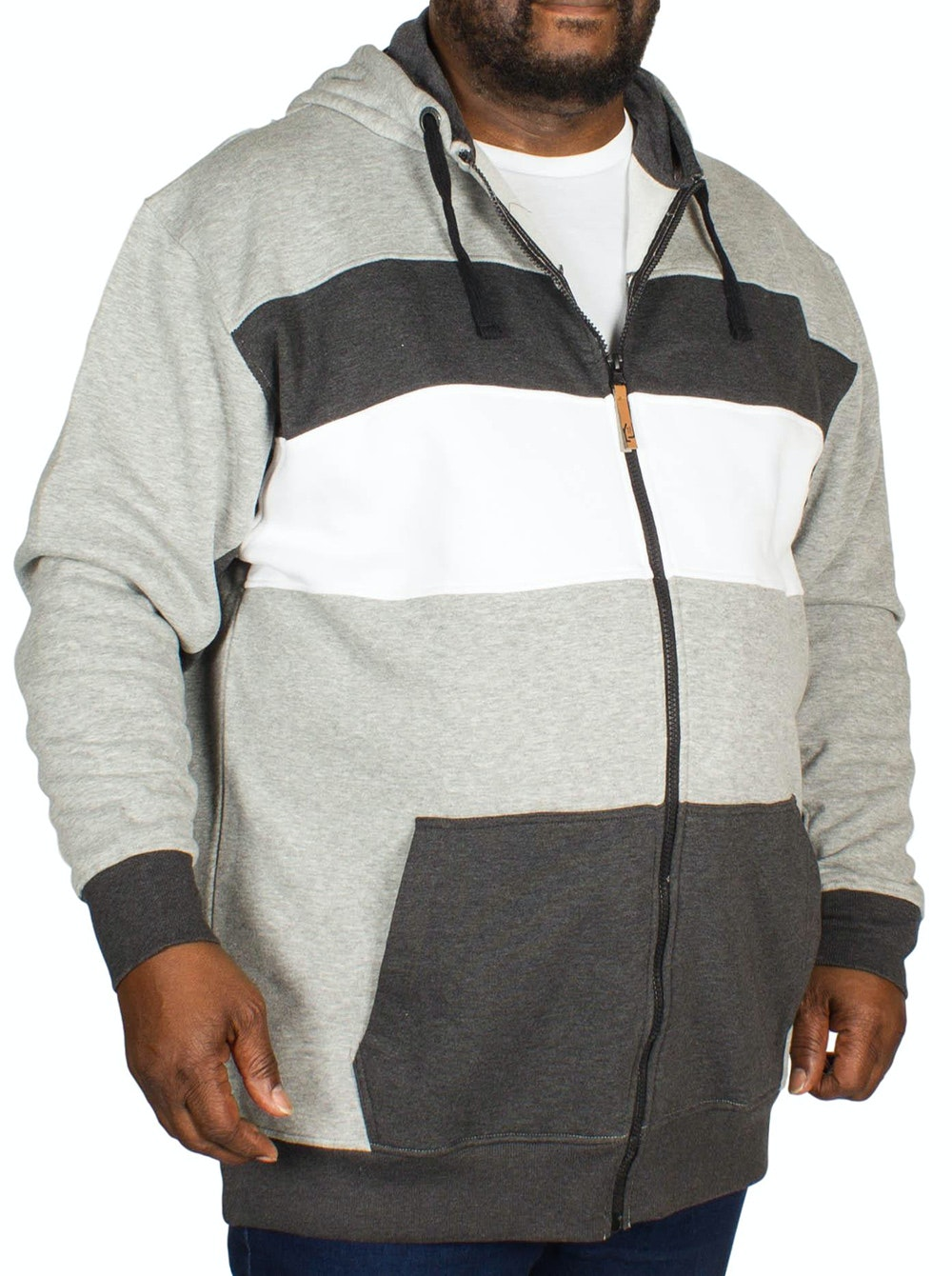Kam Cut and Sew Hoody Grey