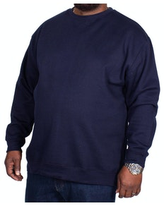 Bigdude Essentials Jumper Navy Tall