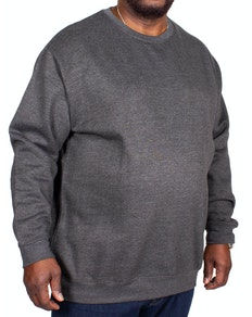 Bigdude Essentials Jumper Charcoal Tall