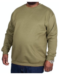 Bigdude Essentials Jumper Khaki Tall