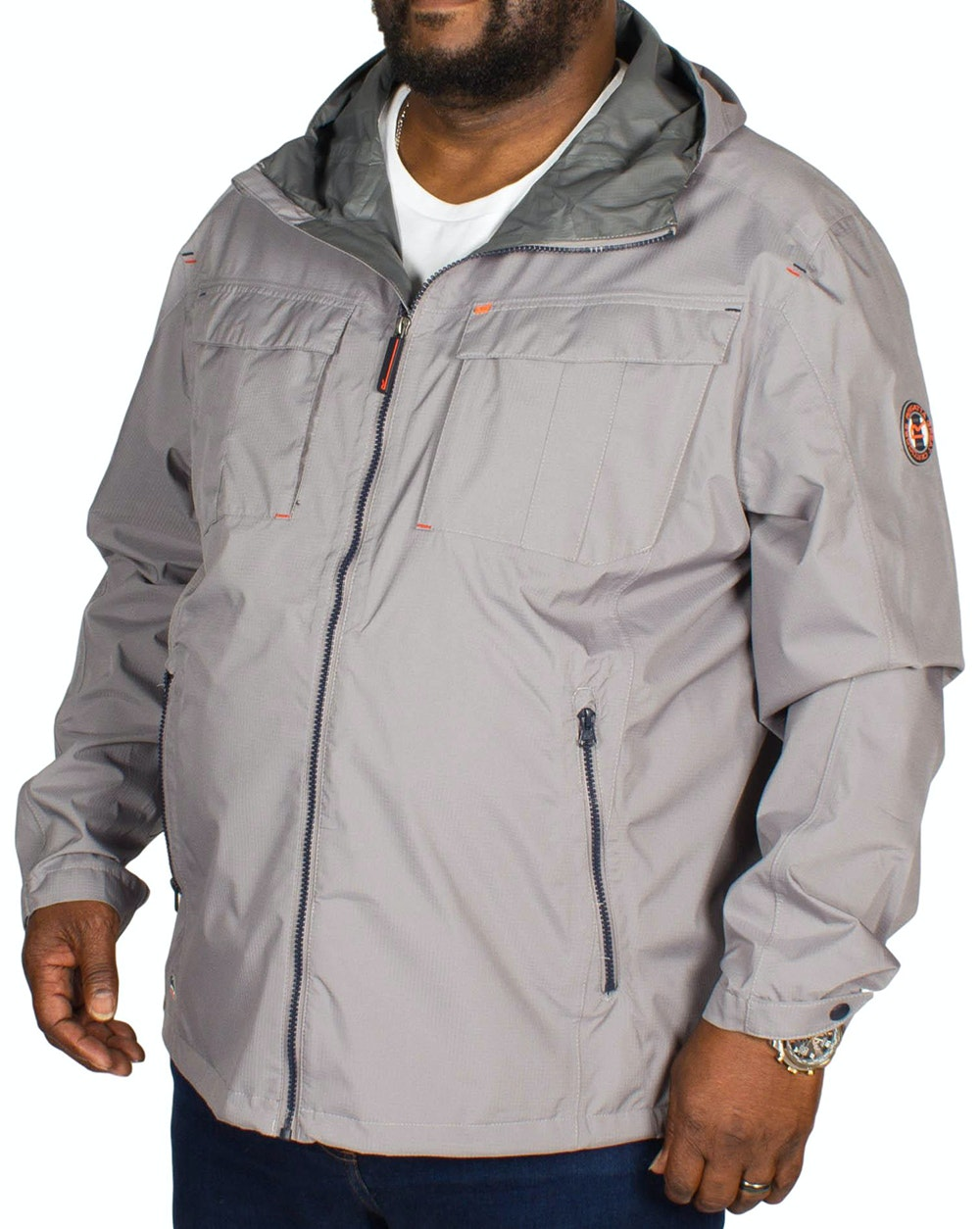 Regatta Bardolf Waterproof Jacket - Grey