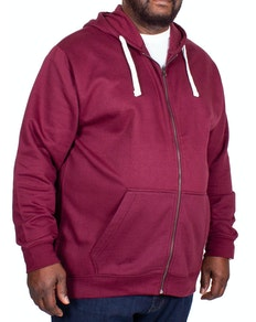 Bigdude Essentials Hoody Burgundy Tall