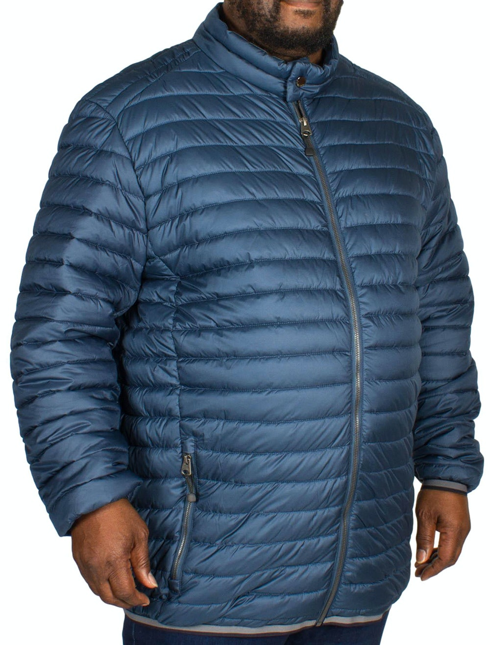 Replika Quilted Jacket Deep Sea Blue