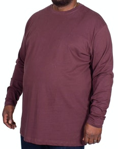 Espionage Plain Long Sleeve T-shirt Purple