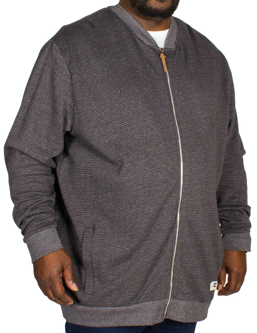 D555 Arnie Sweat Jacket Charcoal