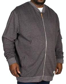 D555 Arnie Sweat Jacket Charcoal