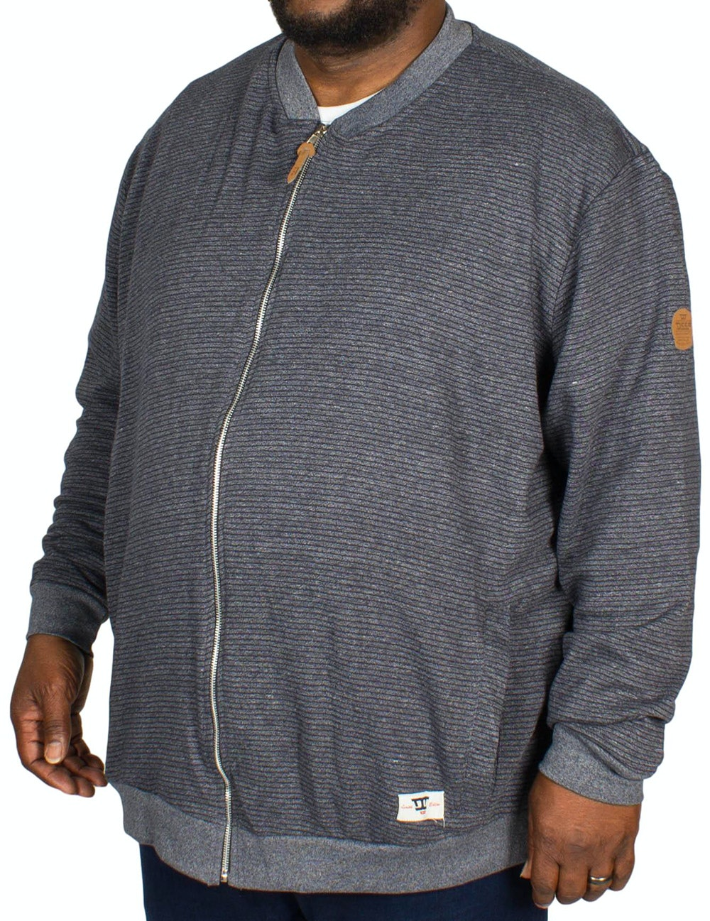 D555 Arnie Sweat Jacket Navy
