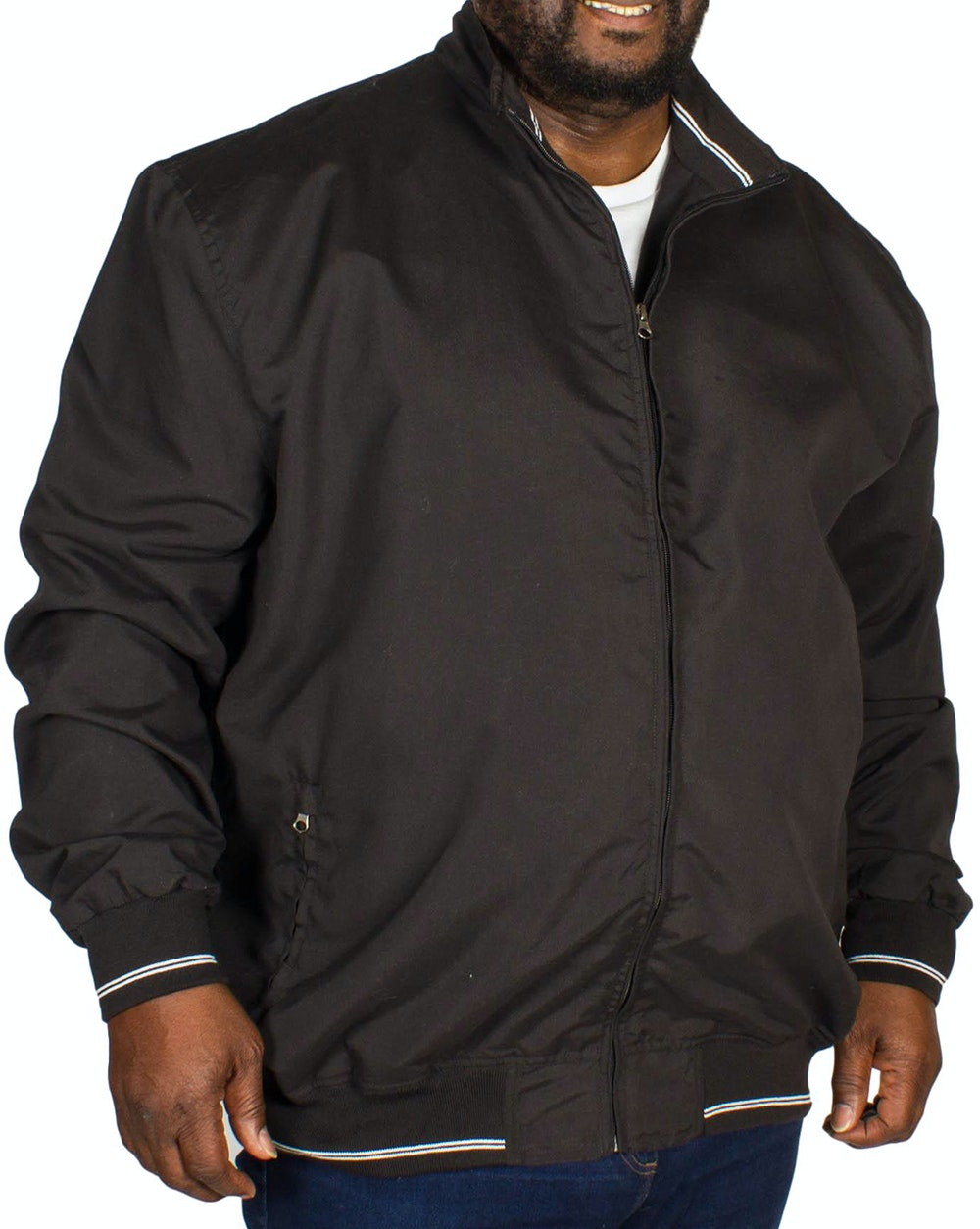 KAM Summer Jacket Black