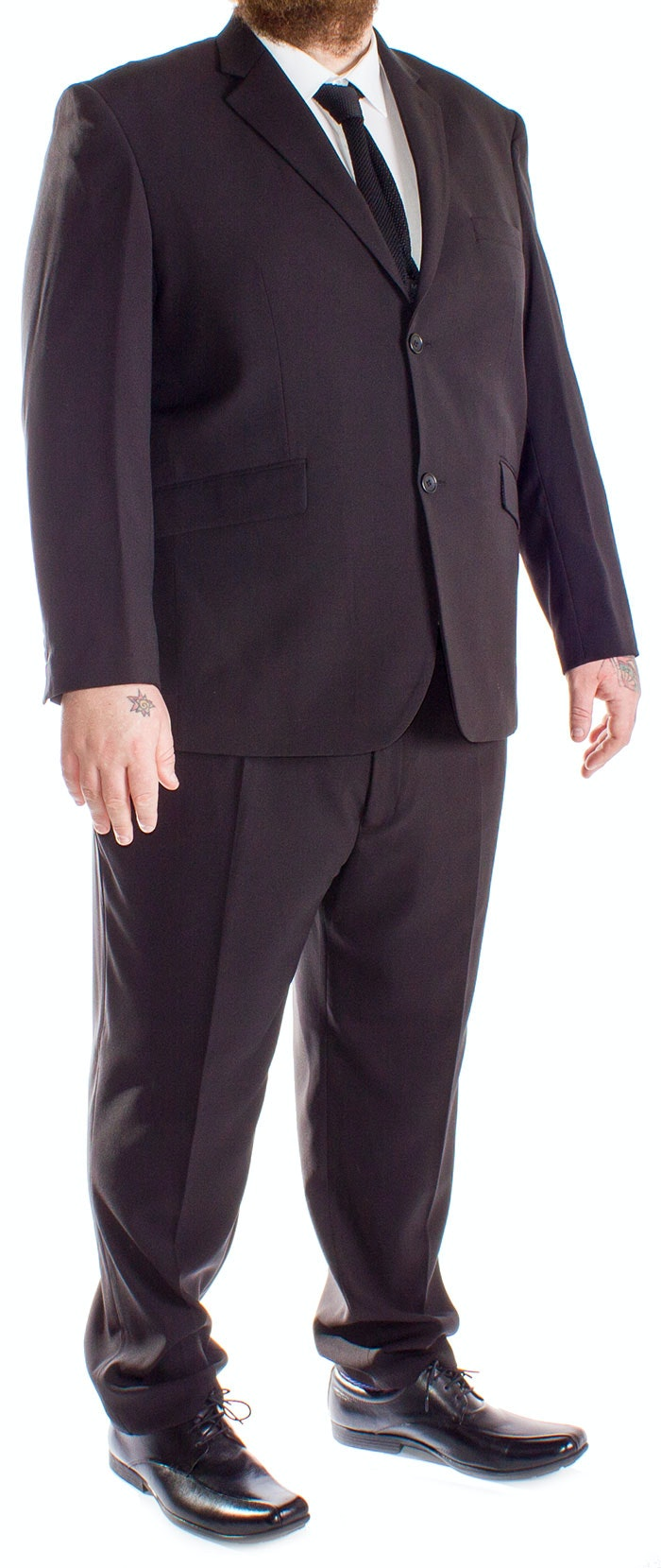 Cruz Sharp Suit Black