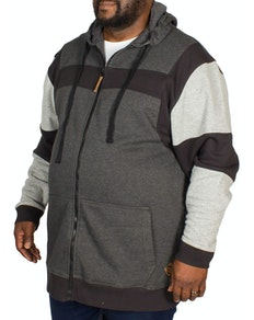 Kam Cut and Sew Hoody Charcoal