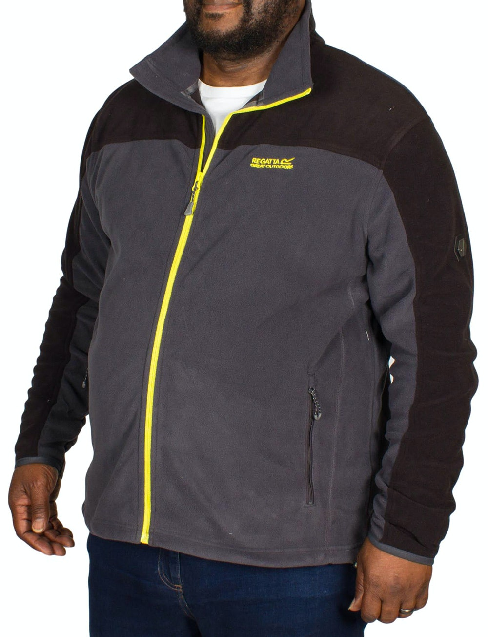 Regatta Stanton II Full Zip Fleece Grey