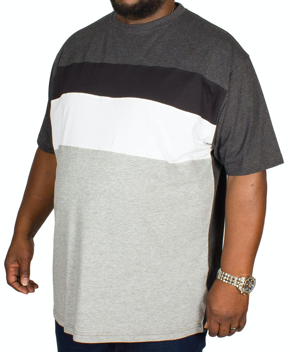 Kam Cut and Sew T-shirt Charcoal