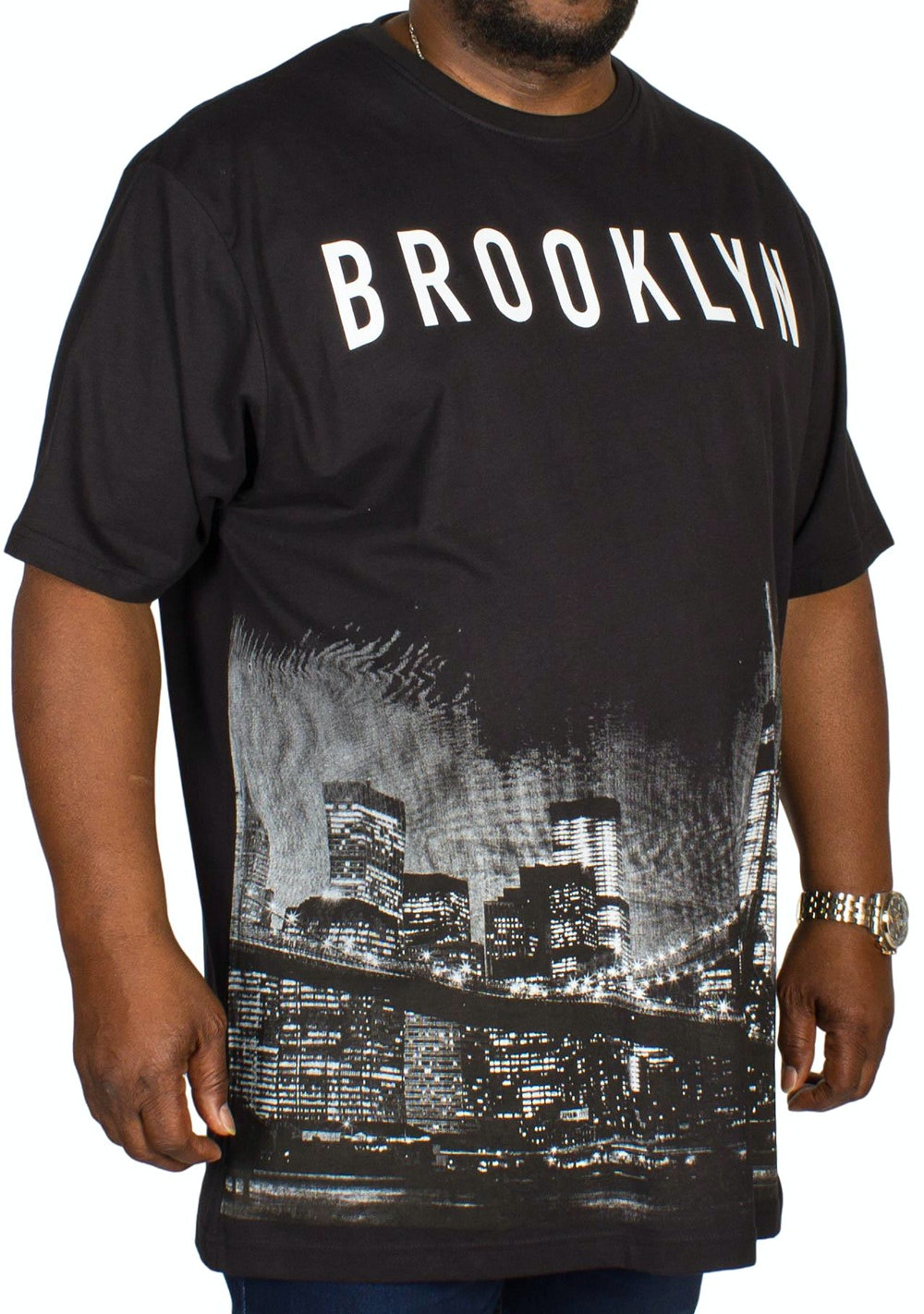 Kam Brooklyn Printed T-shirt Black