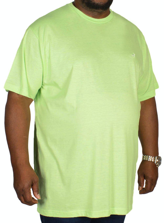 Bigdude Marl Effect T-Shirt Green