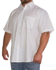 Espionage White Classic Short Sleeved Shirt