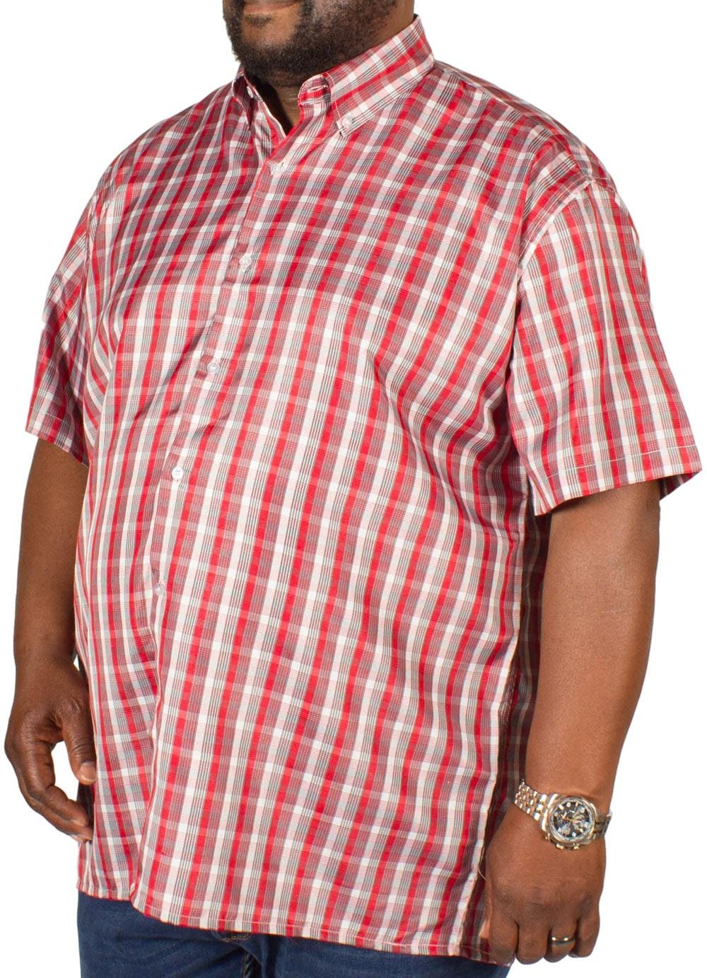 Fitzgerald Jamie Check Shirt Red/Grey