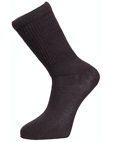 Big Foot Extra-Wide Diabetic Socks Black