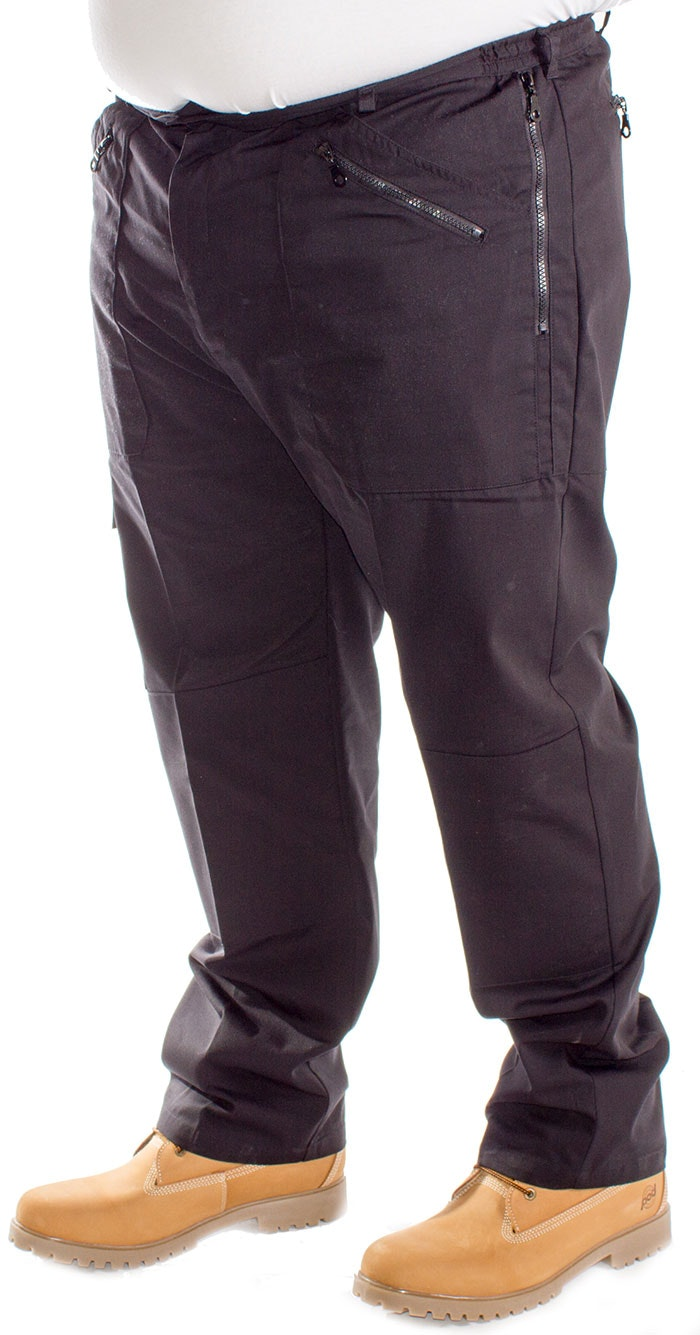 Carabou Action Combat Trousers Black