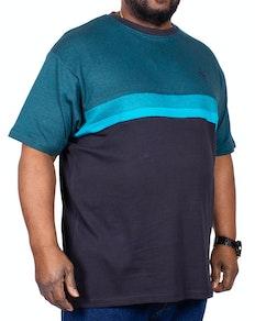 KAM Dobby Weave T-Shirt Breeze