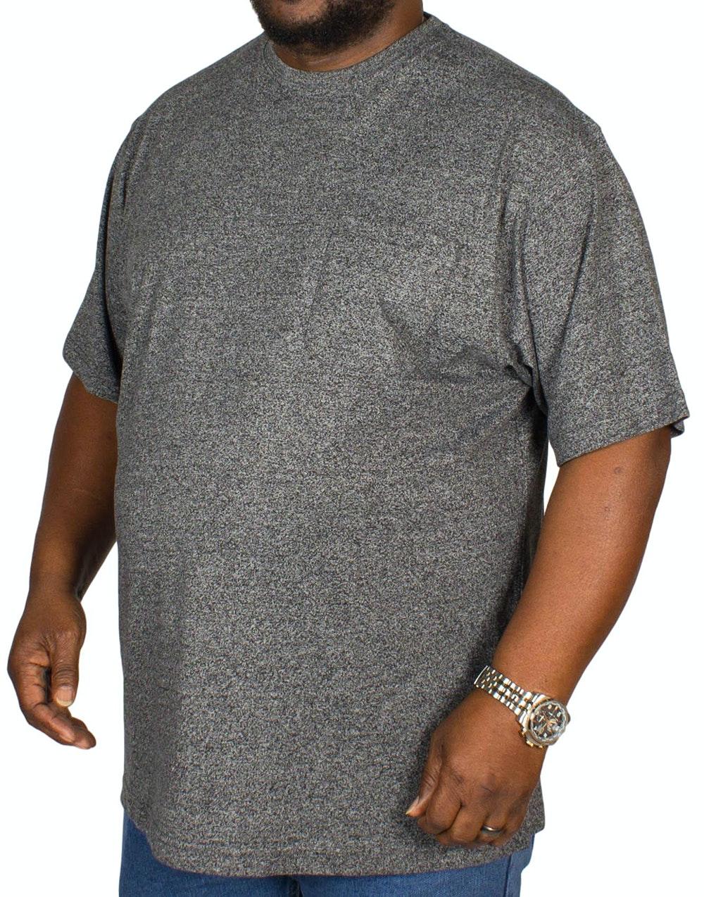 Espionage Jersey Marl T-shirt Charcoal
