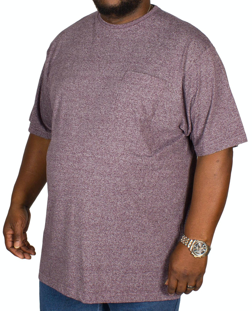 Espionage Jersey Marl T-shirt Grape