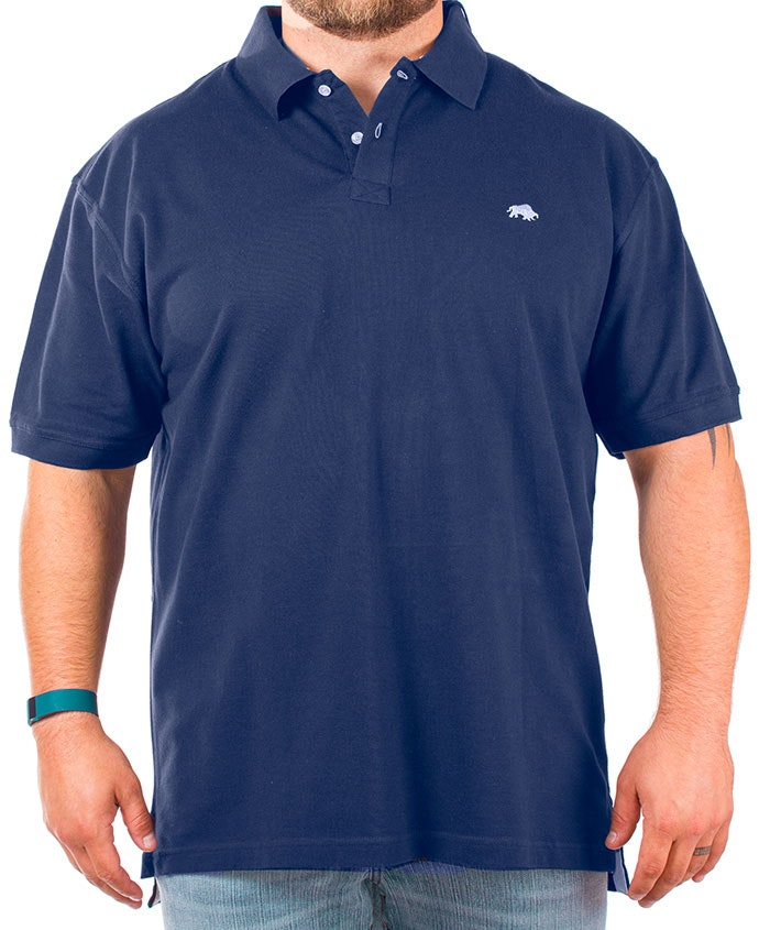 Raging Bull Navy Signature Polo Shirt