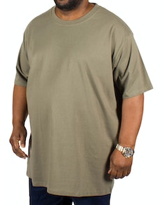 D555 Premium Cotton T-Shirts Khaki