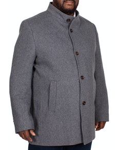 Erla Of Sweden Overcoat Charcoal