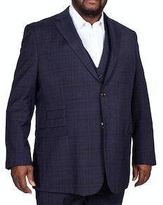 Skopes Hayling Check Jacket Navy