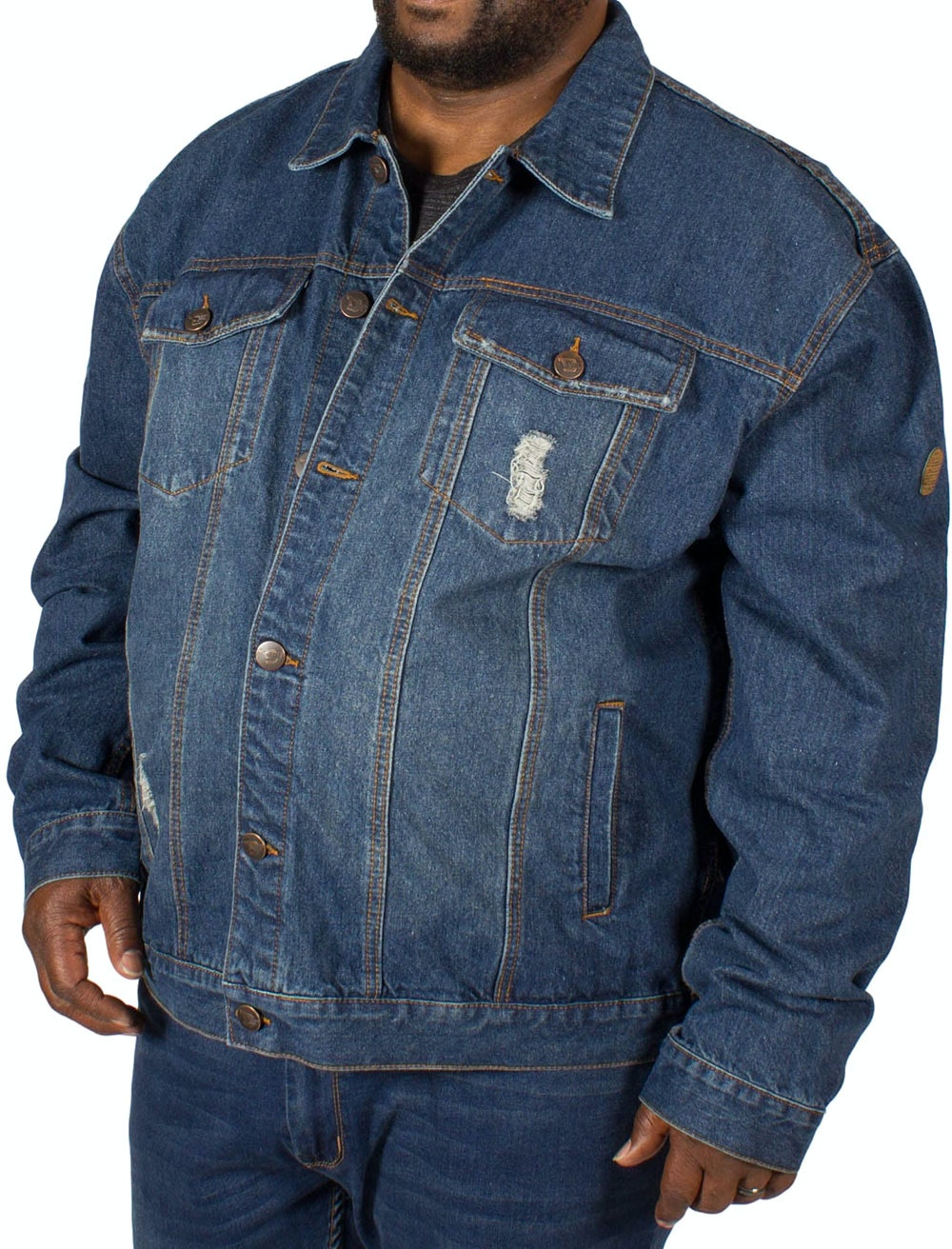 D555 Keaton Western Denim Jacket