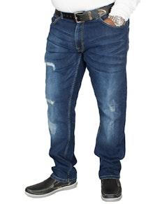 D555 Asher Stretch Fit Jeans Vintage Blue